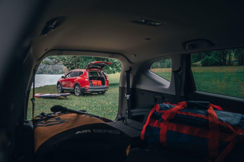 Honda CR-V di Eropah dapat pilihan tujuh tempat duduk, transmisi manual bagi padanan enjin 1.5L turbo Image #840296
