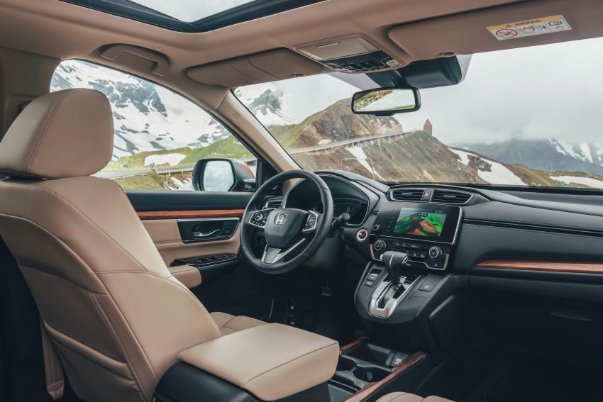 Honda CR-V di Eropah dapat pilihan tujuh tempat duduk, transmisi manual bagi padanan enjin 1.5L turbo Image #840297