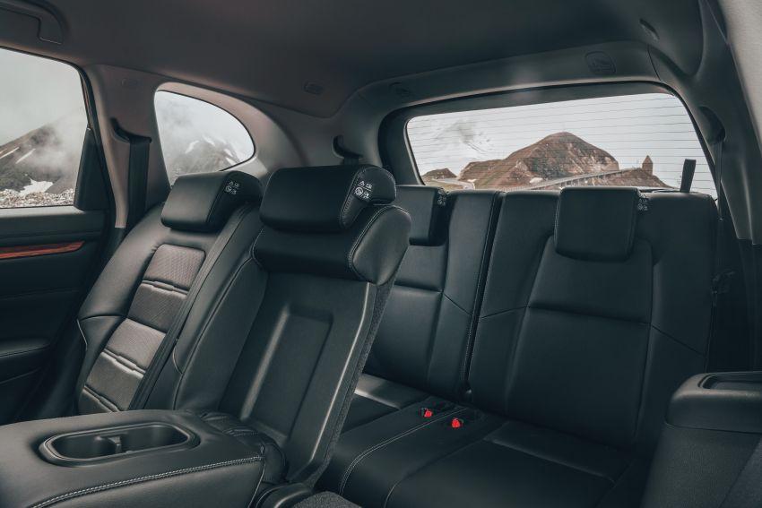 Honda CR-V di Eropah dapat pilihan tujuh tempat duduk, transmisi manual bagi padanan enjin 1.5L turbo Image #840300