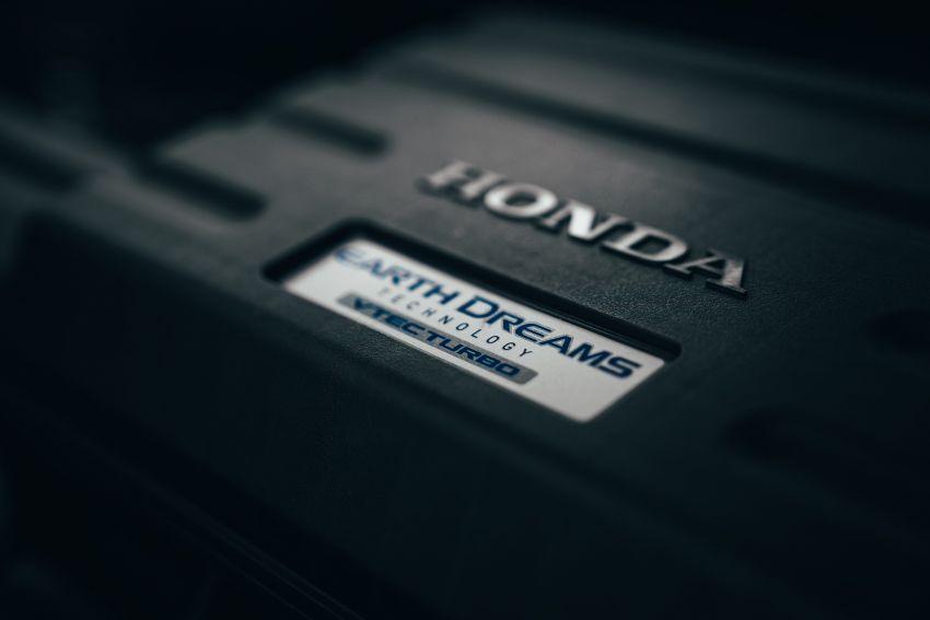Honda CR-V di Eropah dapat pilihan tujuh tempat duduk, transmisi manual bagi padanan enjin 1.5L turbo Image #840304