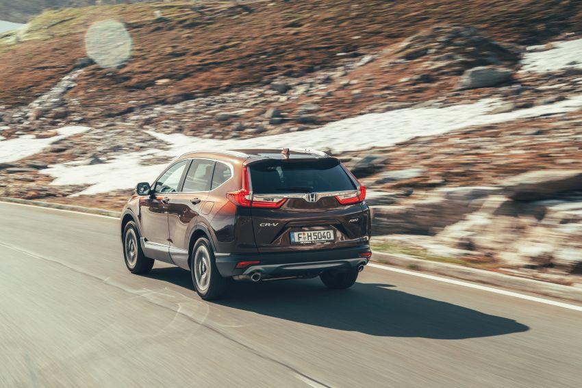 Honda CR-V di Eropah dapat pilihan tujuh tempat duduk, transmisi manual bagi padanan enjin 1.5L turbo Image #840305
