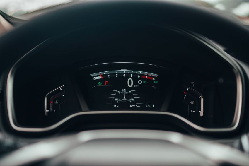 Honda CR-V for Europe – 1.5 litre VTEC Turbo, 7 seats Image #840150