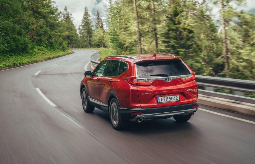 Honda CR-V di Eropah dapat pilihan tujuh tempat duduk, transmisi manual bagi padanan enjin 1.5L turbo Image #840308