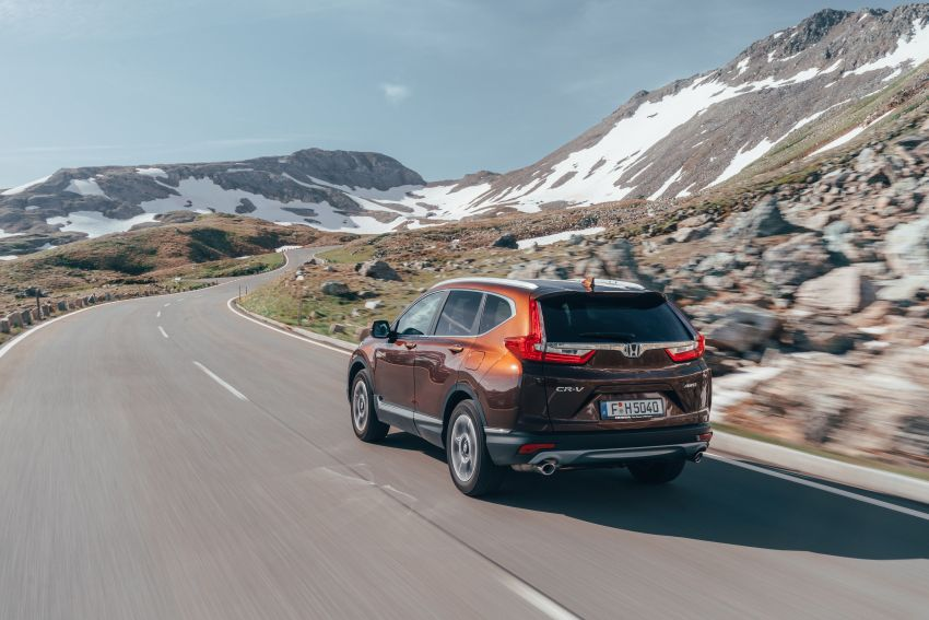Honda CR-V di Eropah dapat pilihan tujuh tempat duduk, transmisi manual bagi padanan enjin 1.5L turbo Image #840311