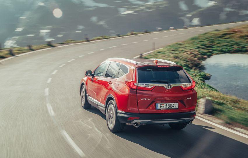 Honda CR-V di Eropah dapat pilihan tujuh tempat duduk, transmisi manual bagi padanan enjin 1.5L turbo Image #840312
