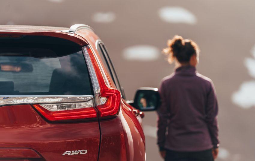 Honda CR-V di Eropah dapat pilihan tujuh tempat duduk, transmisi manual bagi padanan enjin 1.5L turbo Image #840314