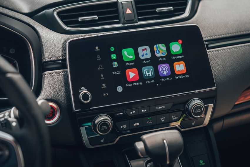 Honda CR-V di Eropah dapat pilihan tujuh tempat duduk, transmisi manual bagi padanan enjin 1.5L turbo Image #840323