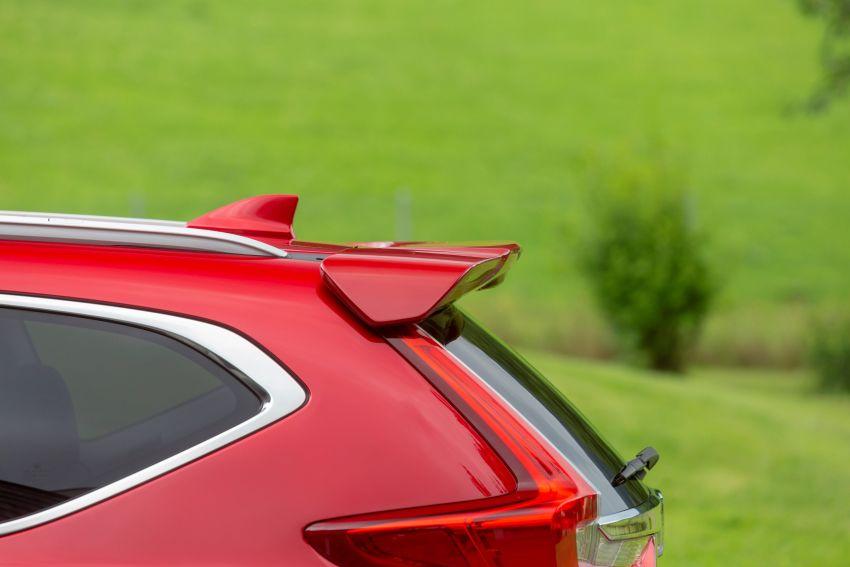 Honda CR-V di Eropah dapat pilihan tujuh tempat duduk, transmisi manual bagi padanan enjin 1.5L turbo Image #840328