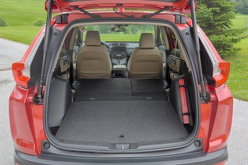 Honda CR-V di Eropah dapat pilihan tujuh tempat duduk, transmisi manual bagi padanan enjin 1.5L turbo Image #840334