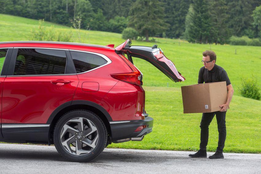 Honda CR-V di Eropah dapat pilihan tujuh tempat duduk, transmisi manual bagi padanan enjin 1.5L turbo Image #840336