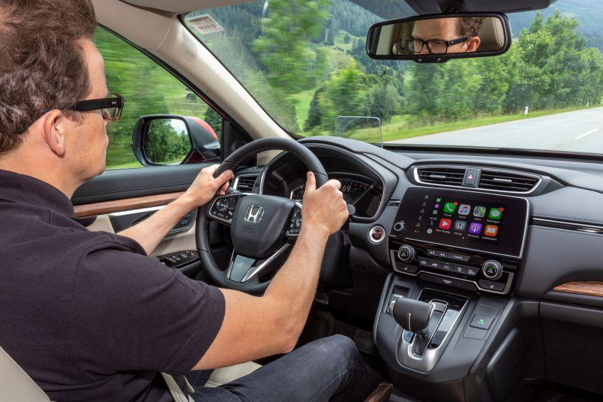 Honda CR-V for Europe – 1.5 litre VTEC Turbo, 7 seats Image #840187