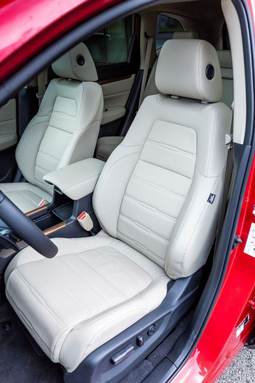Honda CR-V di Eropah dapat pilihan tujuh tempat duduk, transmisi manual bagi padanan enjin 1.5L turbo Image #840342