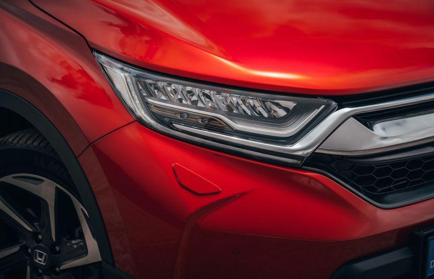 Honda CR-V di Eropah dapat pilihan tujuh tempat duduk, transmisi manual bagi padanan enjin 1.5L turbo Image #840274
