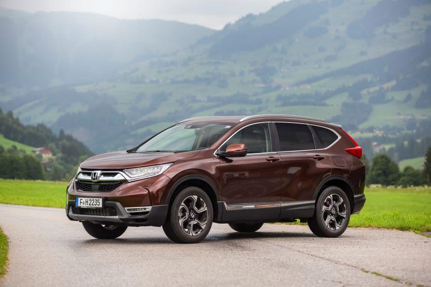 Honda CR-V di Eropah dapat pilihan tujuh tempat duduk, transmisi manual bagi padanan enjin 1.5L turbo Image #840344