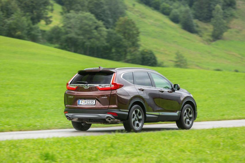 Honda CR-V di Eropah dapat pilihan tujuh tempat duduk, transmisi manual bagi padanan enjin 1.5L turbo Image #840346