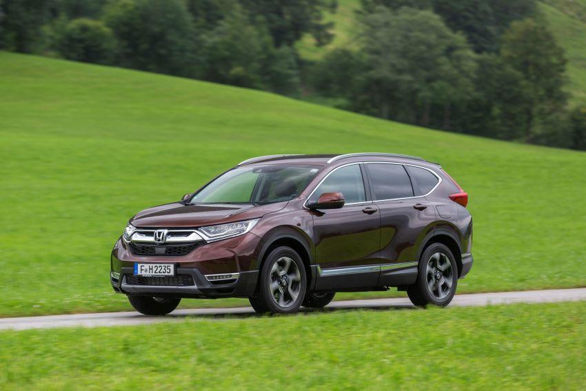 Honda CR-V di Eropah dapat pilihan tujuh tempat duduk, transmisi manual bagi padanan enjin 1.5L turbo Image #840347