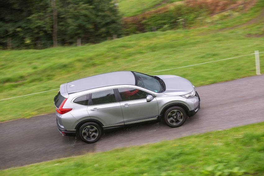 Honda CR-V for Europe – 1.5 litre VTEC Turbo, 7 seats Image #840196