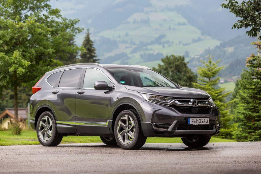 Honda CR-V di Eropah dapat pilihan tujuh tempat duduk, transmisi manual bagi padanan enjin 1.5L turbo Image #840349