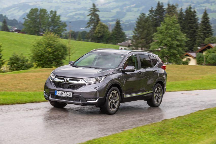 Honda CR-V di Eropah dapat pilihan tujuh tempat duduk, transmisi manual bagi padanan enjin 1.5L turbo Image #840350