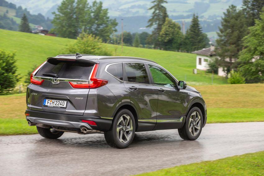 Honda CR-V di Eropah dapat pilihan tujuh tempat duduk, transmisi manual bagi padanan enjin 1.5L turbo Image #840351