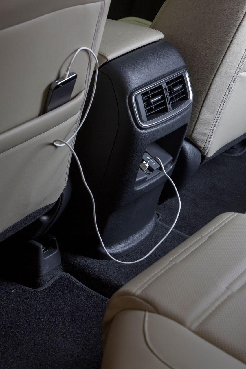 Honda CR-V di Eropah dapat pilihan tujuh tempat duduk, transmisi manual bagi padanan enjin 1.5L turbo Image #840352