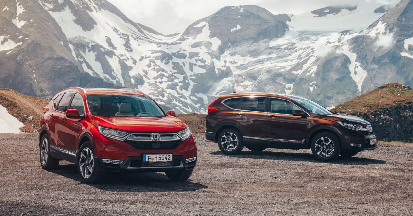 Honda CR-V for Europe – 1.5 litre VTEC Turbo, 7 seats Image #840118