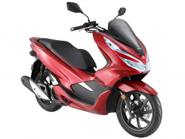 Thoroughly Updated And Revised Is The 2018 Honda PCX150 Scooter Priced At RM10999 Without Road Tax Insurance Registration