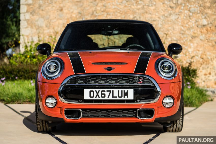 DRIVEN: 2018 MINI 3 Door Cooper S facelift in Spain Image #837805