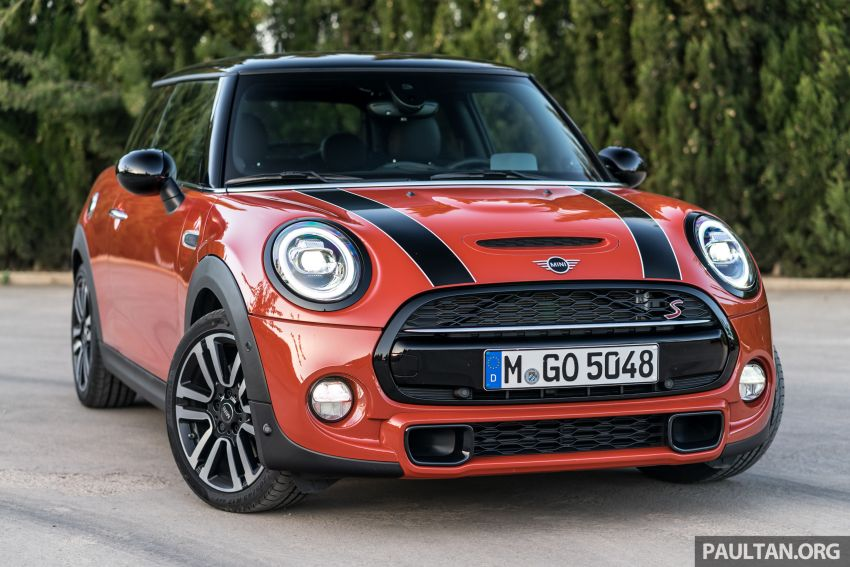 DRIVEN: 2018 MINI 3 Door Cooper S facelift in Spain Image #837801