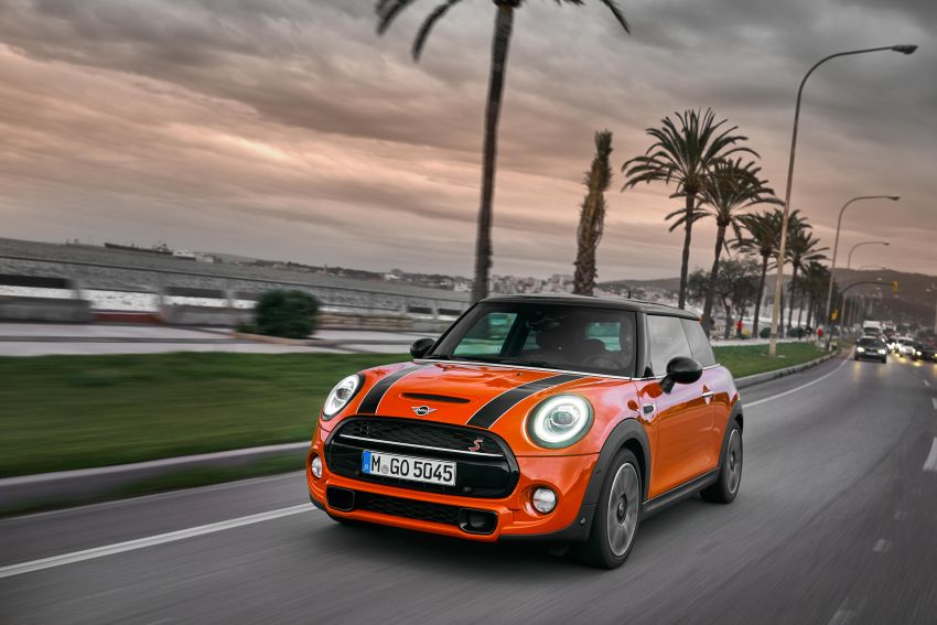 DRIVEN: 2018 MINI 3 Door Cooper S facelift in Spain Image #837905