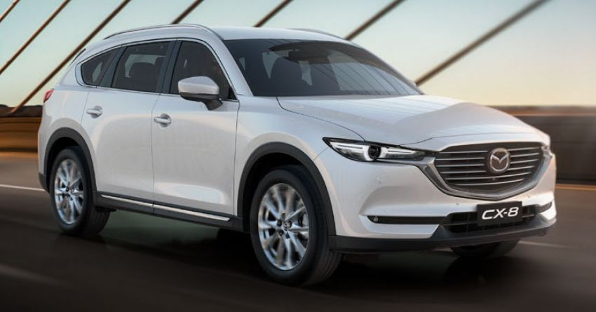 Mazda CX-8 three-row SUV available in Australia – diesel only, three variants offered, priced from AUD42k Image #833771