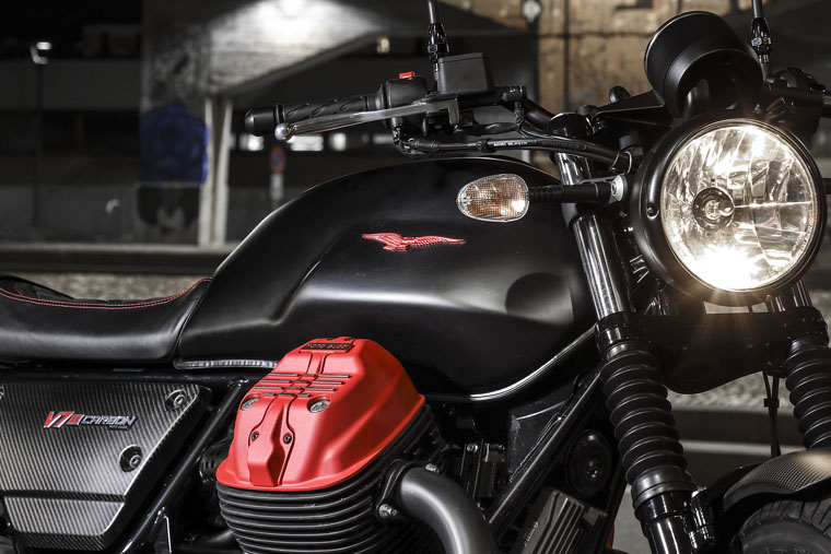 2018 Moto Guzzi V7 III Carbon soon in Malaysia Image #838321