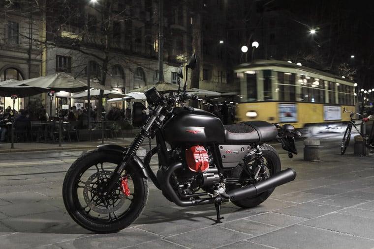 2018 Moto Guzzi V7 III Carbon soon in Malaysia Image #838326