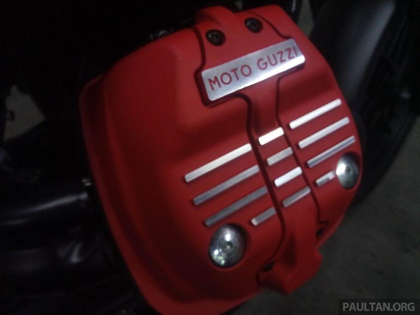 2018 Moto Guzzi V7 III Carbon soon in Malaysia Image #838307