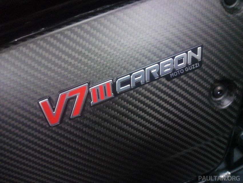 2018 Moto Guzzi V7 III Carbon soon in Malaysia Image #838309