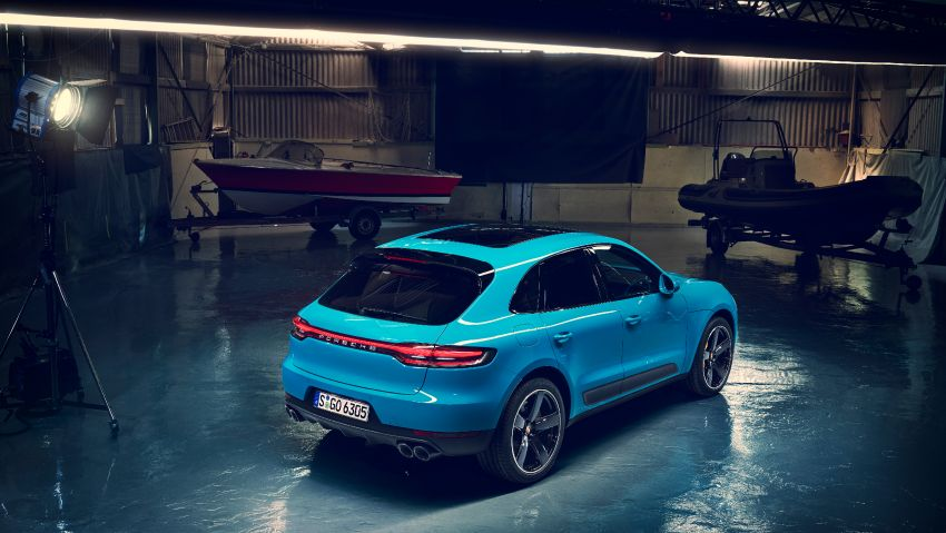 2018 Porsche Macan facelift – revised look, equipment Image #842843
