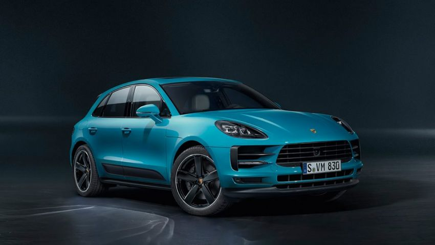 2018 Porsche Macan facelift – revised look, equipment Image #843069