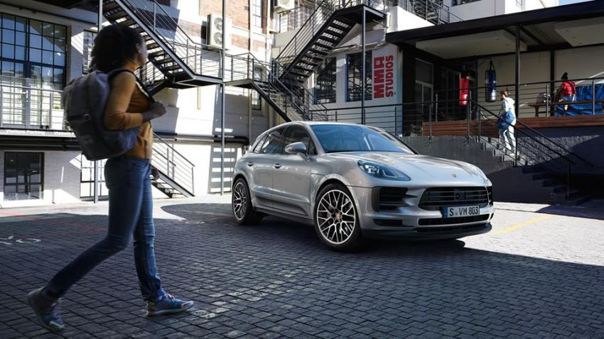 2018 Porsche Macan facelift – revised look, equipment Image #843077