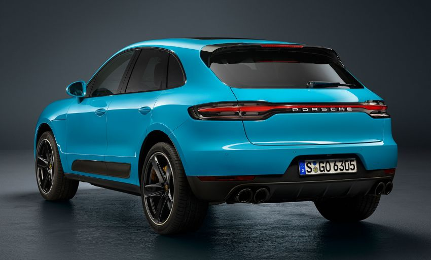 2018 Porsche Macan facelift – revised look, equipment Image #842828