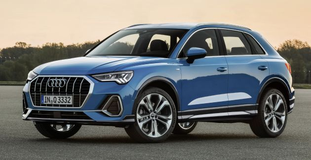 New Audi Q3 revealed - second-gen SUV is a baby Q8