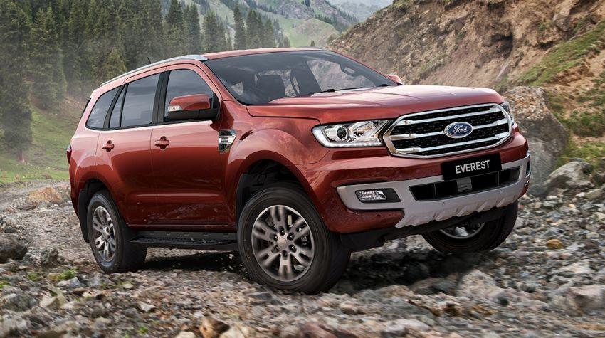 Ford Everest facelift diperkenalkan di Thailand – kini dengan 2.0L EcoBlue turbodiesel, 10-kelajuan auto Image #837738
