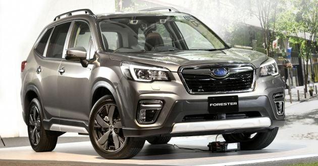 2019 Subaru Forester E Boxer Hybrid For Australia