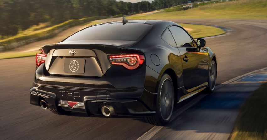 2019 Toyota 86 TRD Special Edition debuts in the US – improved handling, same power, limited to 1,418 units Image #842002