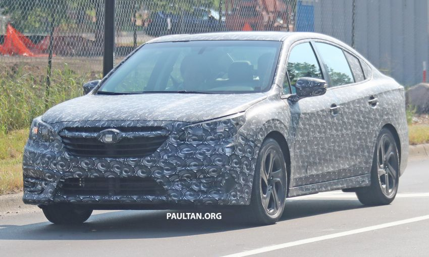 SPYSHOTS: 2020 Subaru Legacy now with less camo Image #842460