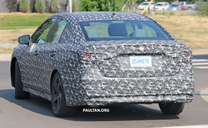 SPYSHOTS: 2020 Subaru Legacy now with less camo Image #842473