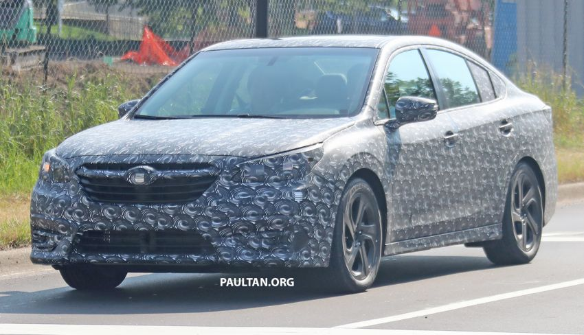 SPYSHOTS: 2020 Subaru Legacy now with less camo Image #842462
