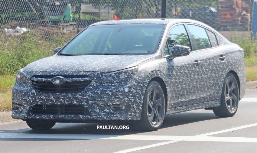SPYSHOTS: 2020 Subaru Legacy now with less camo Image #842463