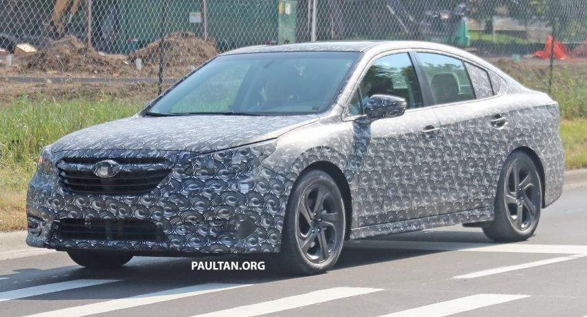 SPYSHOTS: 2020 Subaru Legacy now with less camo Image #842464