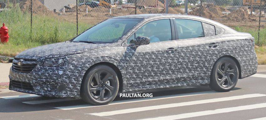 SPYSHOTS: 2020 Subaru Legacy now with less camo Image #842466