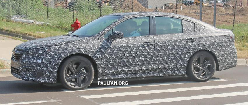 SPYSHOTS: 2020 Subaru Legacy now with less camo Image #842467